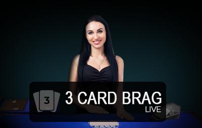 Casinò Online LIVE 3 CARD BRAG