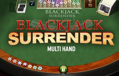 Casinò Online BLACKJACK SURRENDER MULTI HAND